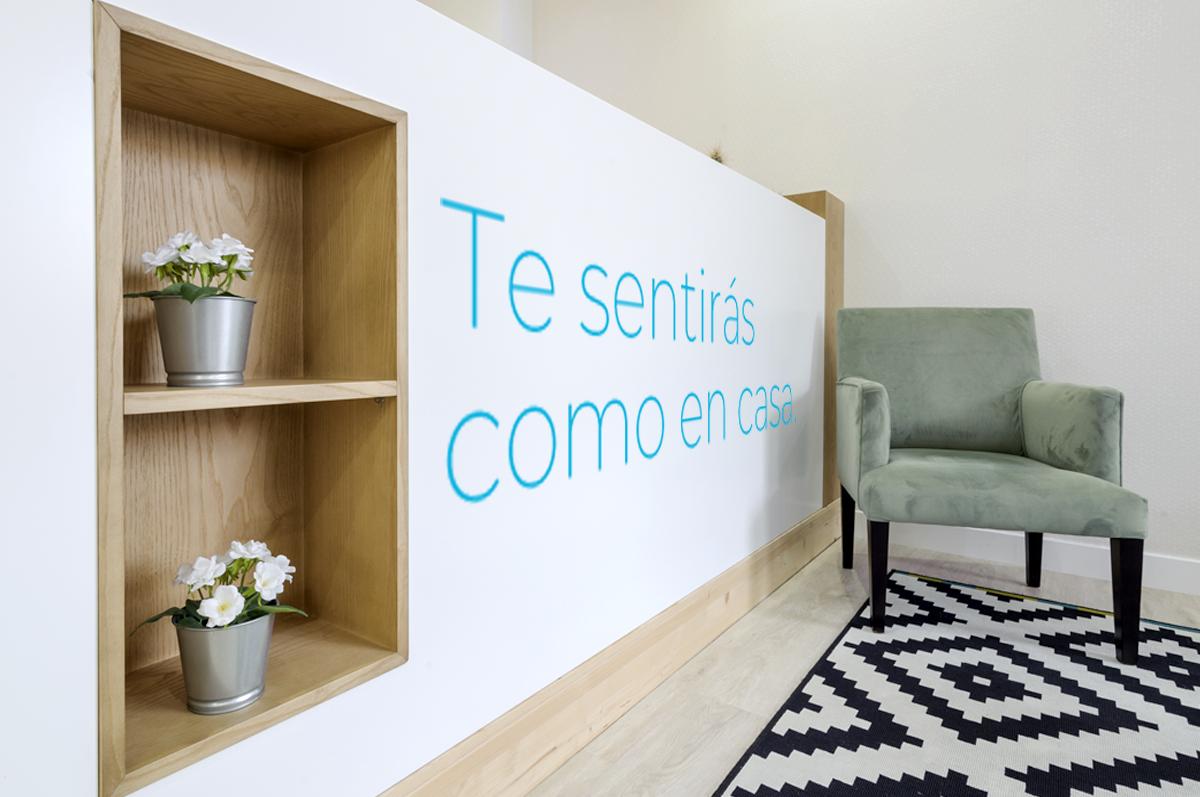 Porque ir al dentista también puede ser una sensación de relax y confort…