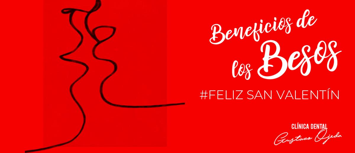 San Valentín y los beneficios de los besos